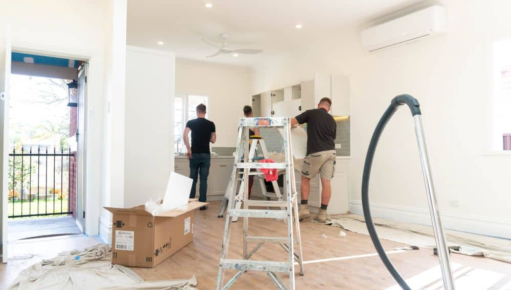 Renovation process - Perth Renovation team.