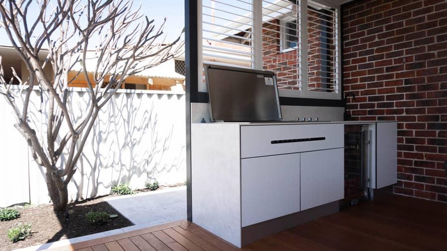 Alfresco kitchen renovation